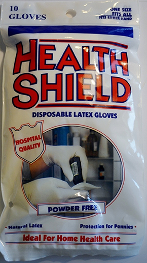 Health Shield Medical Grade Disposable Latex