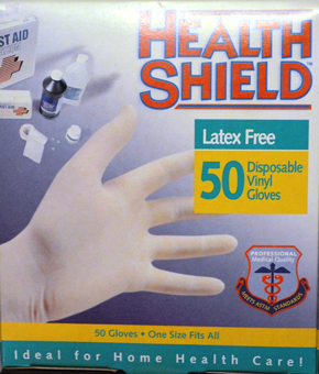 Health Shield Medical Grade Disposable Vinyl