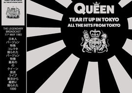 QUEEN - TEAR IT UP IN TOKYO: LIMITED EDITION ON GREY VINYL - Coda Records