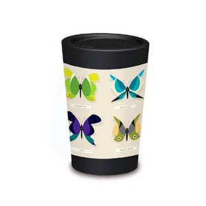 Pink Fantail CuppaCoffeeCup Gift Tin