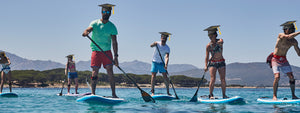 Stand Up Paddleboarding Students