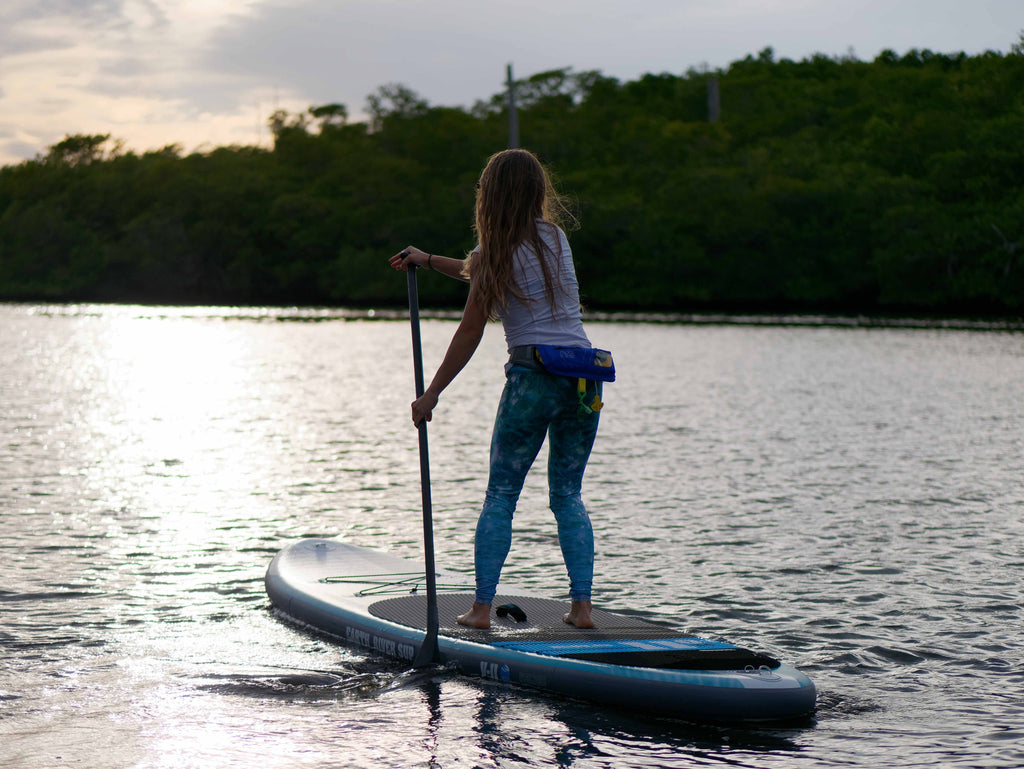 Balance On a paddle board