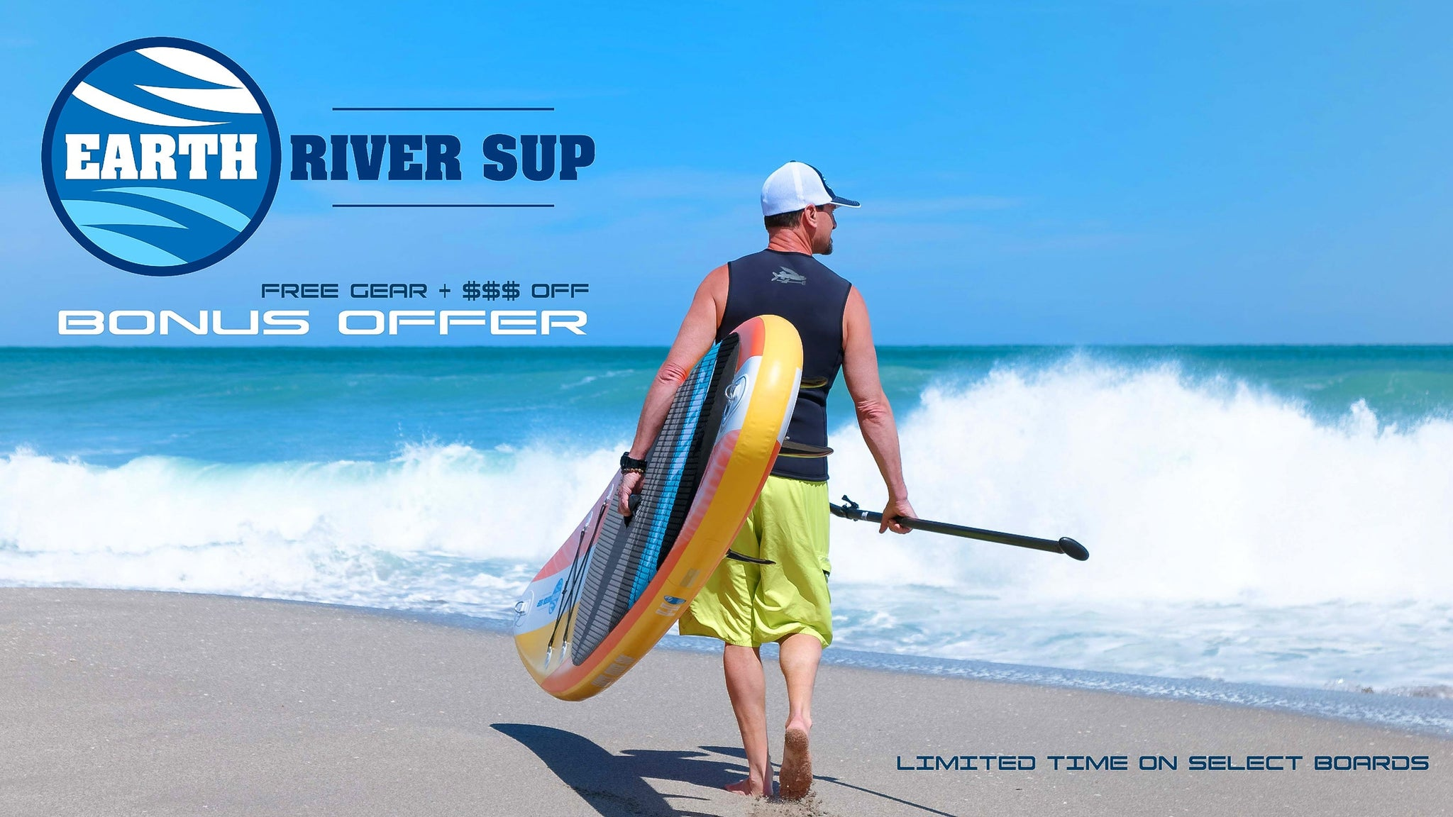 07ced97b1e46 Inflatable Paddle Board Sale and Free Gear Bonus Offer. SHOP NOW