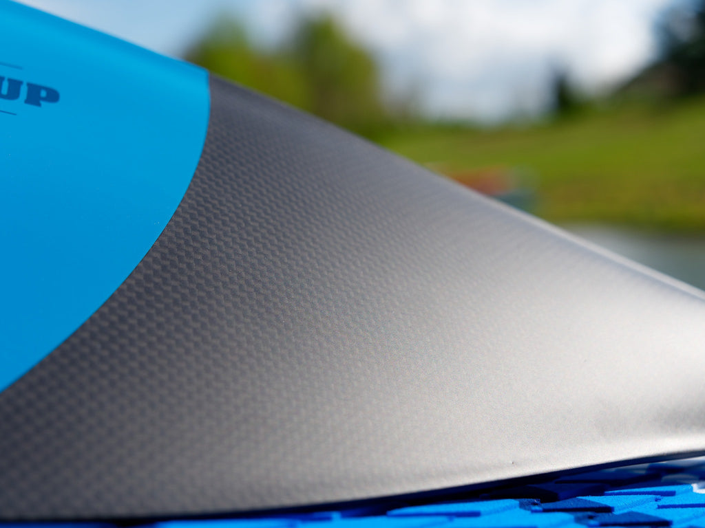 Earth River SUP Carbon paddle blade weave