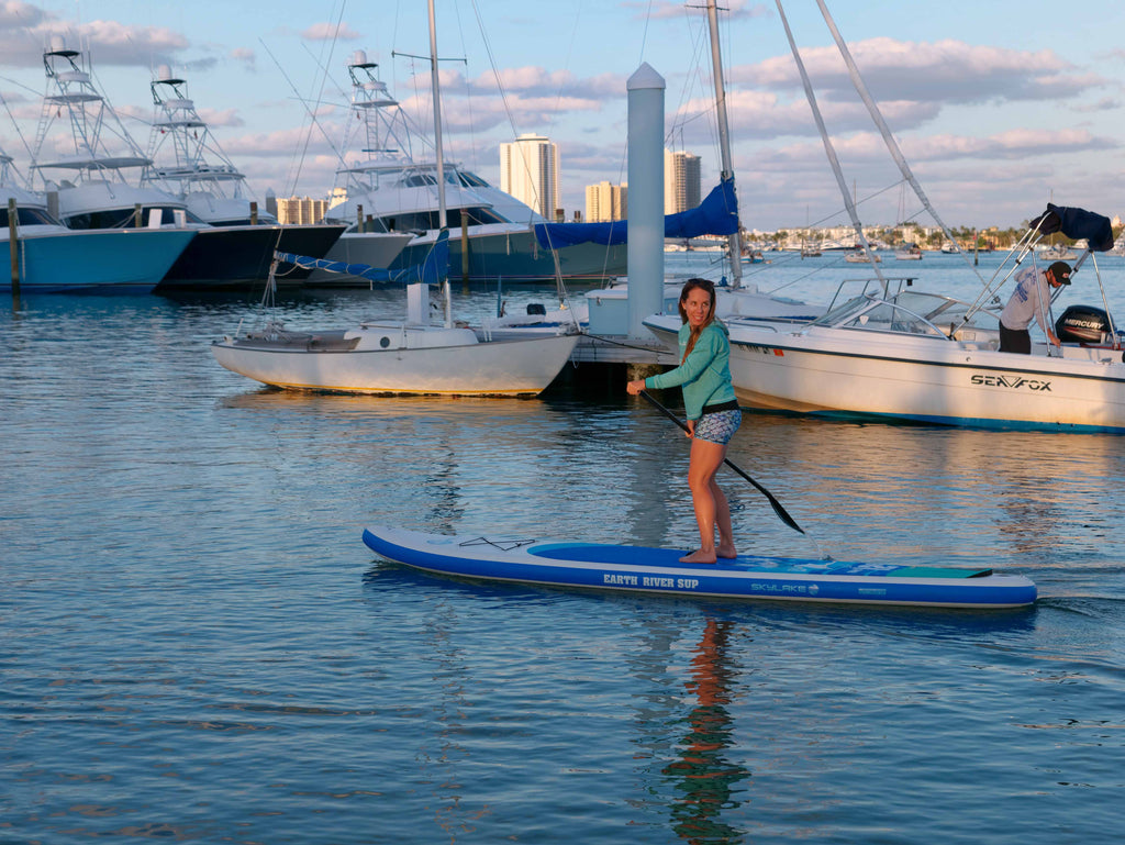 Touring paddle board