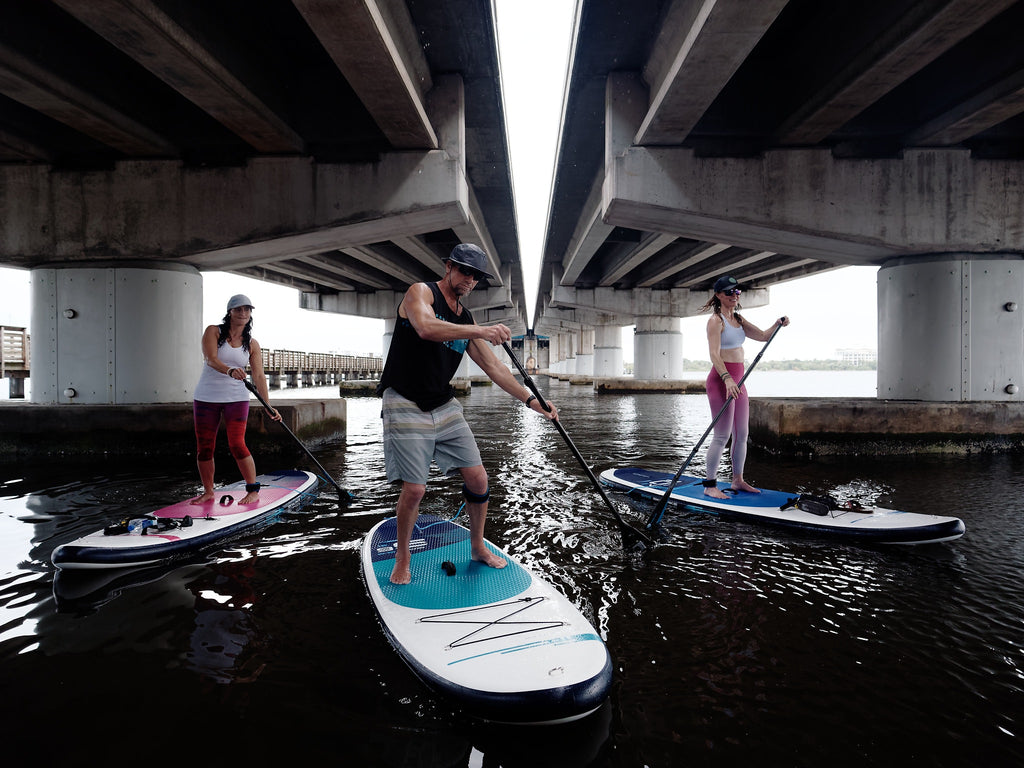 Basic SUP bungee system