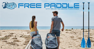 Pumped Up SUP Free Paddle Offer