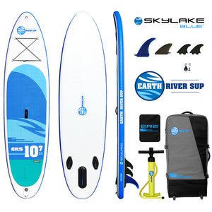 Earth River SUP 10-7 SKYLAKE BLUE™ Inflatable Paddle Board 2018 (10'7