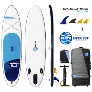 Earth River SUP SKYLAKE 10-7 S3 AQUA Inflatable Paddle Board