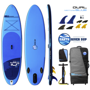 Earth River SUP DUAL 10-9 S3 NEPTUNE BLUE Inflatable Paddle Board