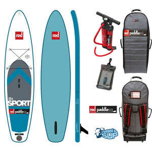 "SALE - Red Paddle Co SPORT MSL 11'3""x32"" Inflatable Stand Up Paddle Board SUP 2017"