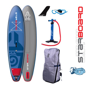"Starboard BLEND DELUXE Inflatable SUP 2018 (11'2""x32""x6"")"