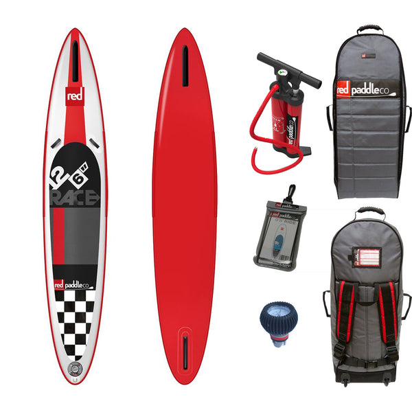 "Red Paddle Co RACE 12'6""x28"" Inflatable Stand Up Paddle Board 2015"
