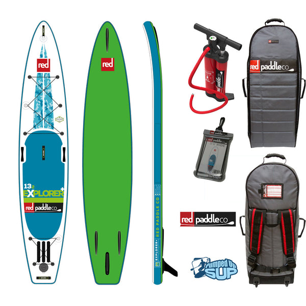 "Red Paddle Co EXPLORER MSL 13'2""x30"" Inflatable Stand Up Paddle Board SUP 2017"