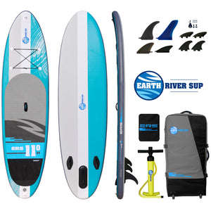 "Earth River SUP 11-0 V3 Inflatable Paddle Board 2019 (11'0""x34""x5"")"