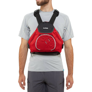 NRS NINJA PFD Life Jacket - Red
