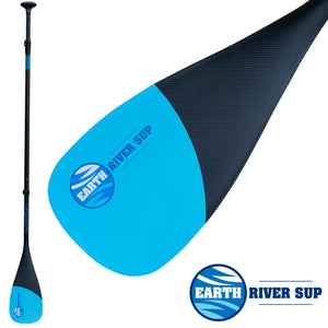 EARTH RIVER SUP CARBON 85 SUP PADDLE - 1|2|3 PIECE OPTIONS (2018)