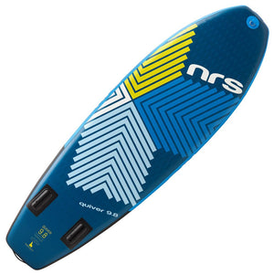 "NRS QUIVER 9'8""x35"" Inflatable Stand Up Paddle Board SUP 2020"
