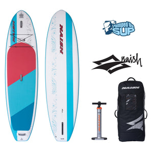 "Naish ALANA AIR 10'6""x32"" Inflatable Stand Up Paddle Board"