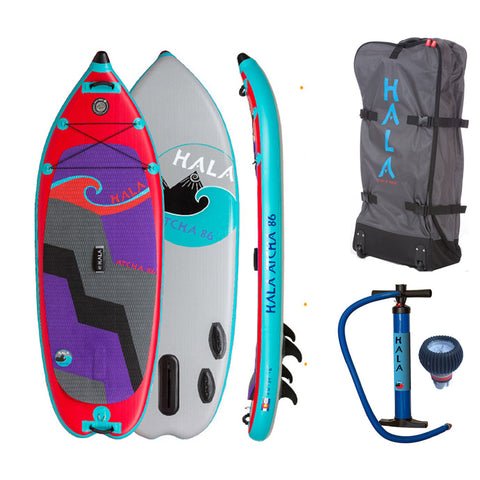 "Hala Atcha 86 8'6""x34"" Inflatable Stand Up Paddle Board"