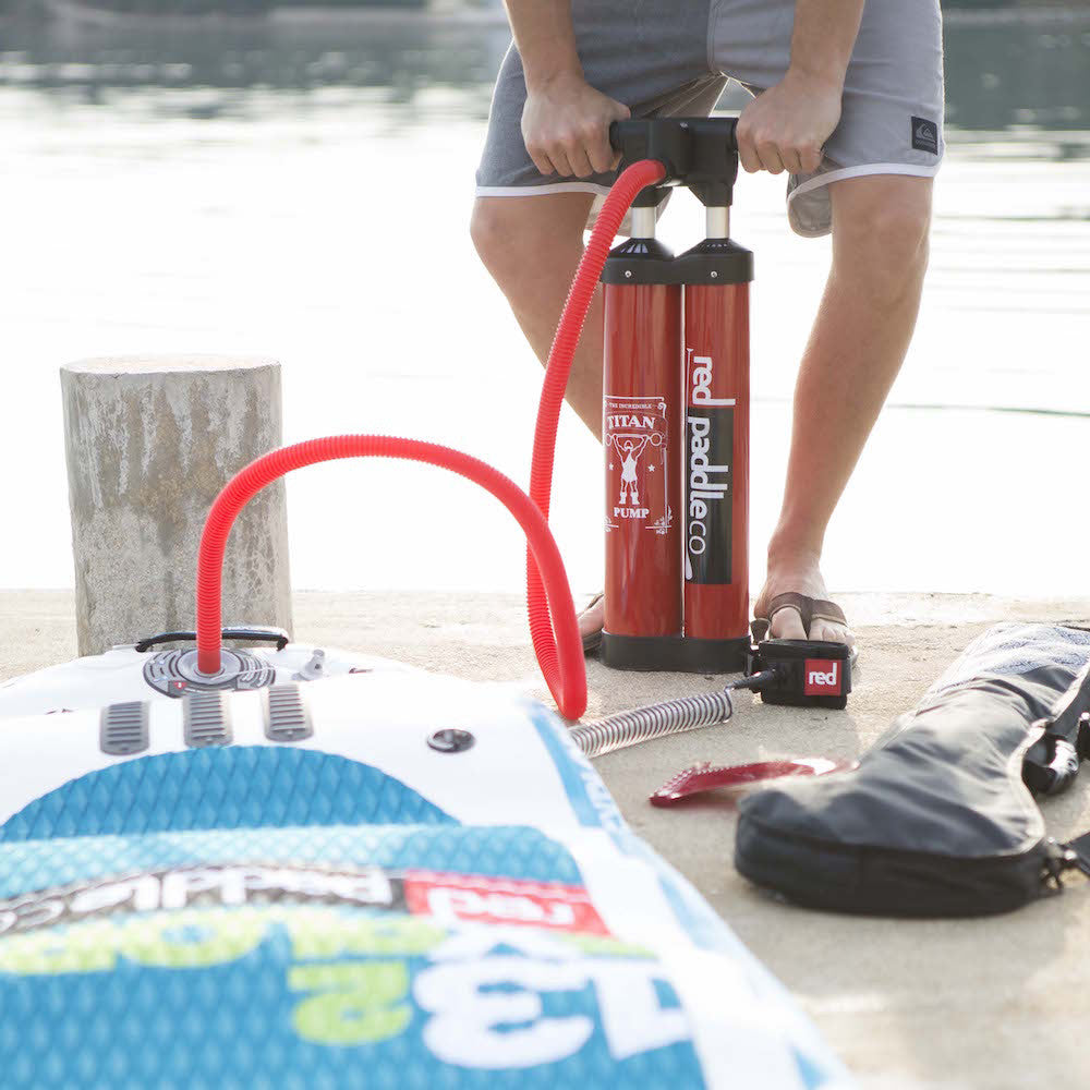 Red Paddle Co Titan Pump (Inc. Earth River SUP Pressure Gauge)
