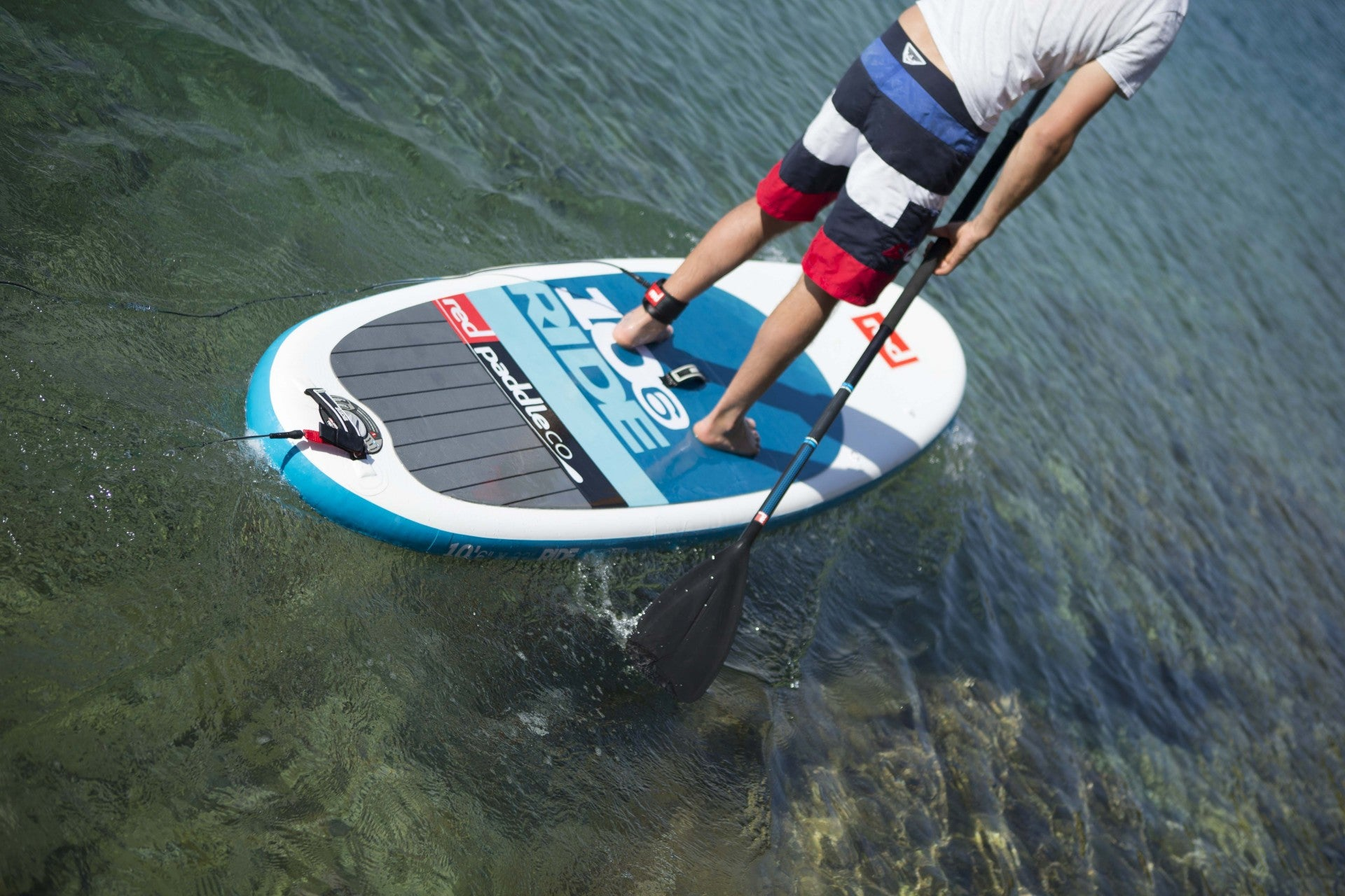 "Red Paddle Co RIDE 10'6""x32"" Inflatable Stand Up Paddle Board 2015"