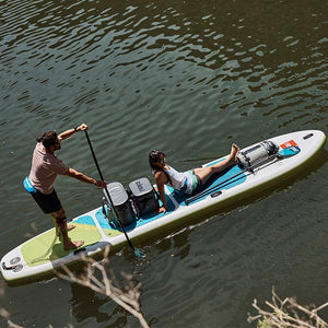 "Red Paddle Co VOYAGER TANDEM 15'0""x34"" Inflatable Stand Up Paddle Board 2019"