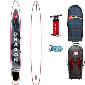 Red Paddle 22 Foot Dragon Racing Inflatable SUP