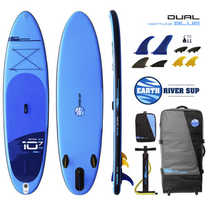 Earth River SUP DUAL 10-7 S3 NEPTUNE BLUE Inflatable Paddle Board