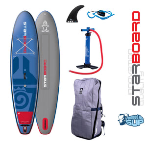 "Starboard DRIVE DELUXE Inflatable SUP 2018 (10'5""x30""x6"")"