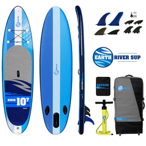 "Earth River SUP 10-7 V3 Inflatable Paddle Board 2019/2020 (10'7""x32""x5"")"