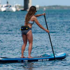 "Earth River SUP 10-7 V-II Inflatable Paddle Board 2018 (10'7""x32""x5"") BLUE"