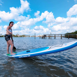 "Earth River SUP 10-7 SKYLAKE BLUE™ Inflatable Paddle Board 2018 (10'7""x32""x5"")"