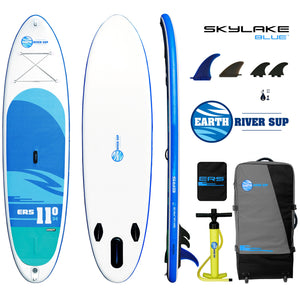 "Earth River SUP 11-0 SKYLAKE BLUE™ Inflatable Paddle Board 2019 (11'0""x34""x5"")"