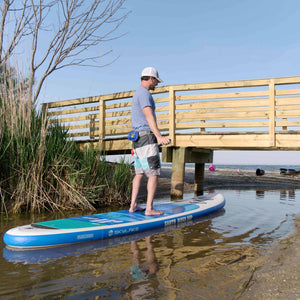 "Earth River SUP 11-0 SKYLAKE BLUE™ Inflatable Paddle Board 2019/2020 (11'0""x34""x5"") - RESERVED"