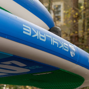 "Pre-SALE EX FLEET PADDLESTROKE - Earth River SUP 11-0 SKYLAKE GREEN™ 2018 (11'0""x34""x5"")"