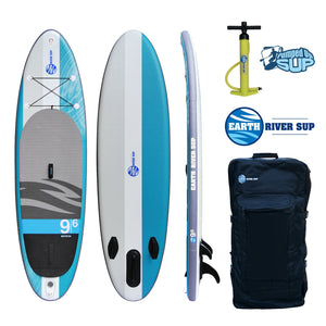 "Earth River SUP 9-6 V-II Inflatable Paddle Board 2017 (9'6""x31""x5"")"