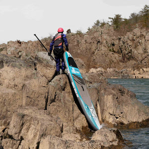 "Earth River SUP 9-6 V-II Inflatable Paddle Board 2018 (9'6""x31""x5"")"