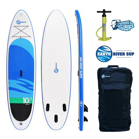 "Earth River SUP 10-7 SKYLAKE Inflatable Paddle Board 2017 (10'7""x32""x5"")"