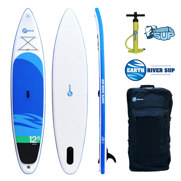 "Earth River SUP 12-6 SKYLAKE Inflatable Paddle Board 2017 (12'6""x32""x6"")"