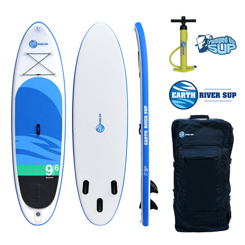 "Earth River SUP 9-6 SKYLAKE Inflatable Paddle Board 2017 (9'6""x31""x5"")"