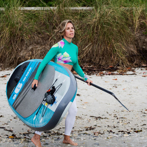 "Earth River SUP 9-6 V3 Inflatable Paddle Board 2019/2020 (9'6""x31""x5"")"