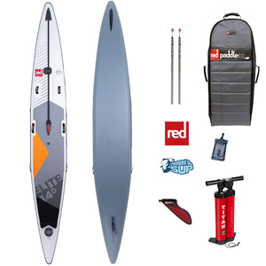 "Red Paddle Co ELITE 14'0""x25"" Inflatable Stand Up Paddle Board SUP 2020"