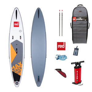 "Red Paddle Co MAX RACE 10'6""x26"" Inflatable Stand Up Paddle Board SUP 2020"