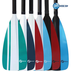Earth River SUP NRF Blade + FIBERGLASS Shaft 3 Piece Travel Paddle