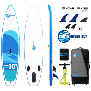 "Earth River SUP 10-9 SKYLAKE GT™ Inflatable Paddle Board 2019/2020 (10'9""x30""x5"")"