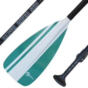 Earth River SUP NRF Blade + ALUMINIUM Shaft 2 Piece Adjustable Paddle