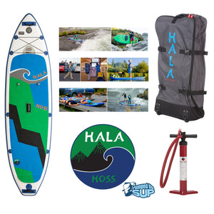 "HALA CARBON HOSS Inflatable SUP (11'0"" x 34"" x 6"")"