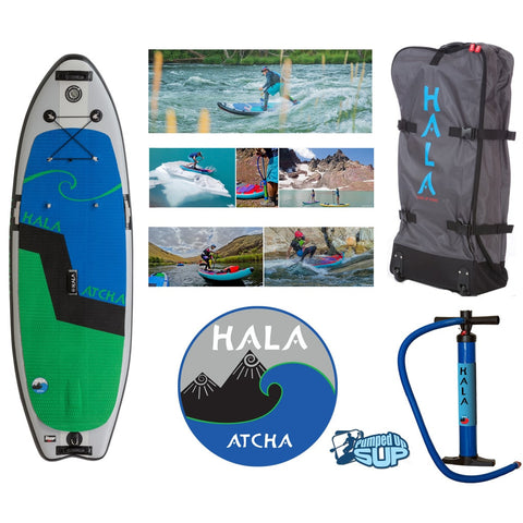 "HALA ATCHA STOMP Inflatable SUP 2017 (9'6"" x 36"" x 6"")"