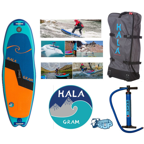"HALA GRAM Inflatable SUP 2017 (8'0"" x 30"" x 4.75"")"